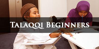 Talaqqi Beginners